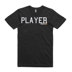 Player Tee Black Thumbnail