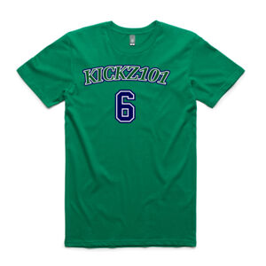 Porzingis 6 Throwback Tee Green Thumbnail
